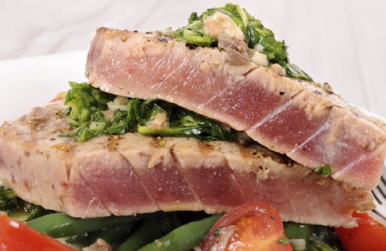 Real good fish recipe grilled mediteranean yellowfin for Recipes for tuna fish